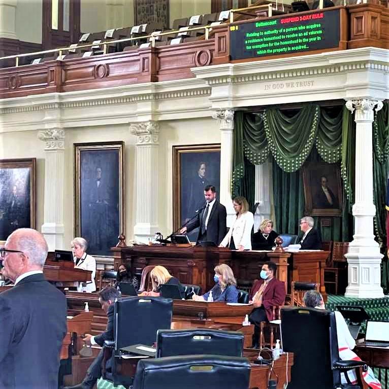 The Texas Senate Keeps Working