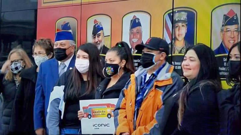 Annual Hispanic Heritage Bus Wrap Ceremony