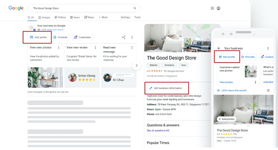 Update Your Google Business Page