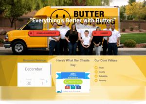 Butter Plumbing Website