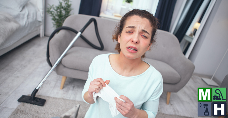 cleaning tips for fall allergies