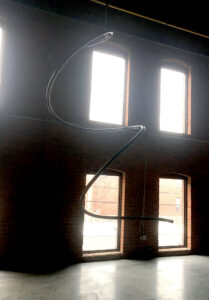 Aerial Helix Spiral Flying Solo Custom Apparatus Fabrication Circus