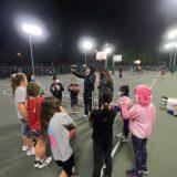 Team at practice