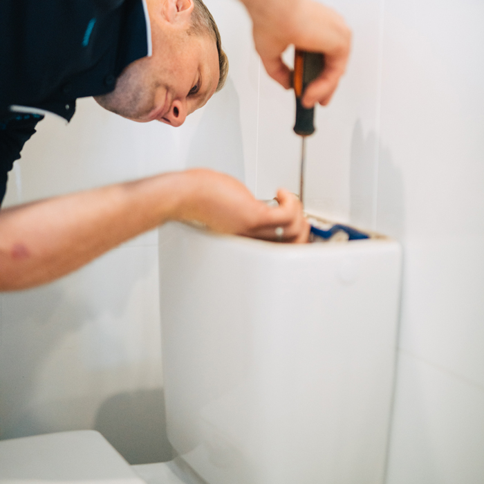 toilet cistern repair by Thoroughgood Plumbing central coast