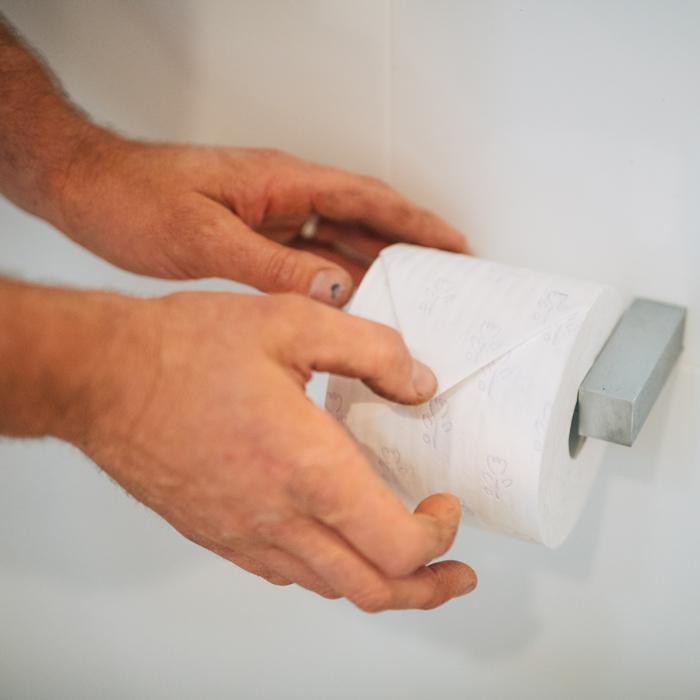 Toilet repair by Thoroughgood Plumbing