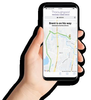 Hand Mobile Phone App