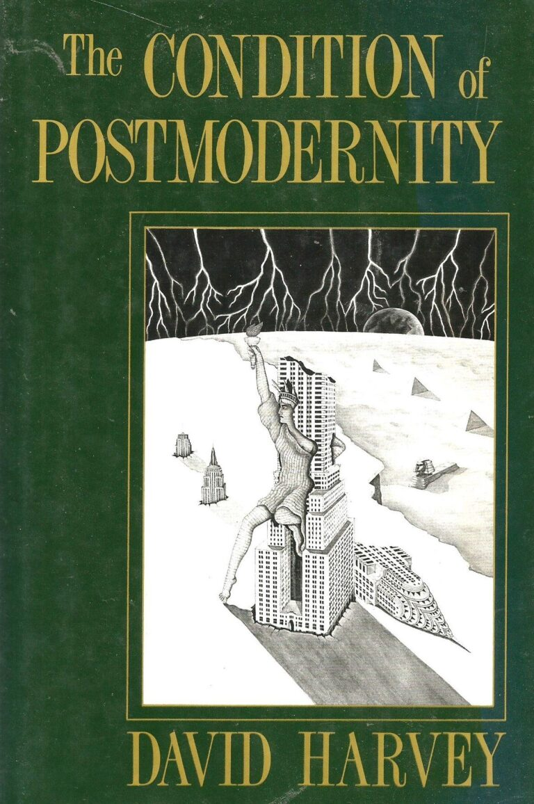 David harvey the condition of postmodernity postmodern design book