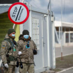 Pandemic Across Closed Checkpoints: Donetsk and Luhansk