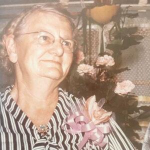 Grandma Tillie of Tillie's Tafel in Petoskey Michigan