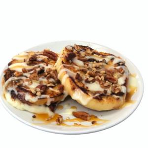 Caramel Pecan Grilled Roll
