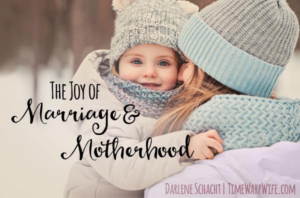 The joy of marriage and motherhood #2