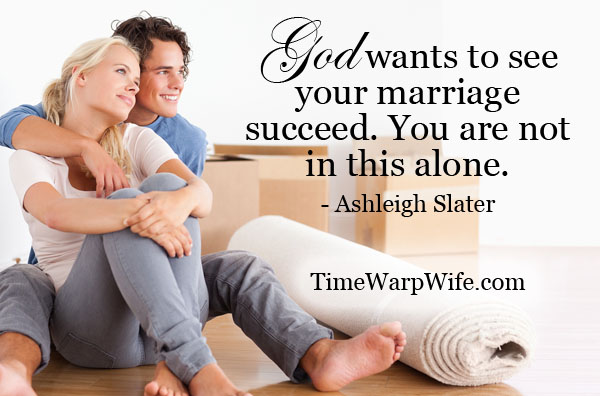 God wants to see your marriage succeed. You are not in this alone.