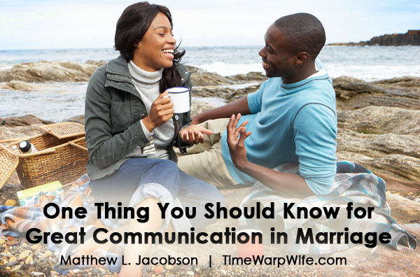 One thing you should know for great communication in marriage