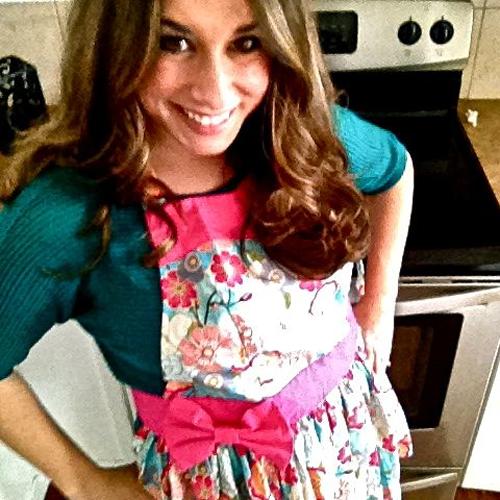 Janelle Nehrenz in a Sugar Baby Apron