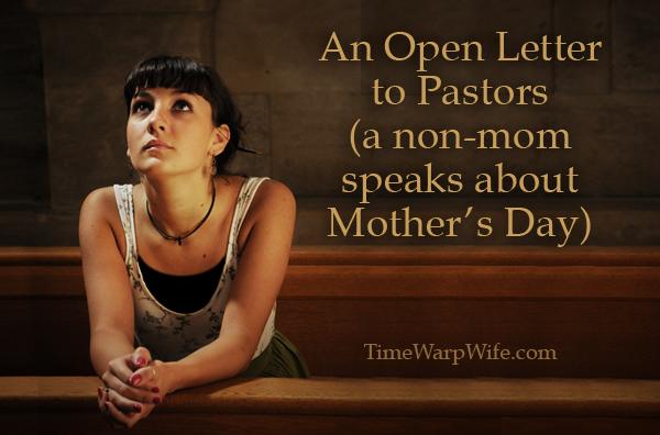 An Open Letter to Pastors