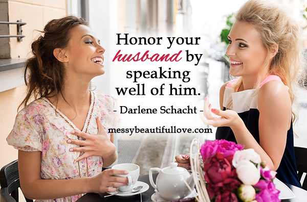 Speak Well of Your Husband