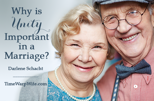 Why is unity important in a marriage