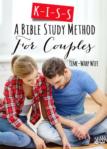 KISS Bible Study Method