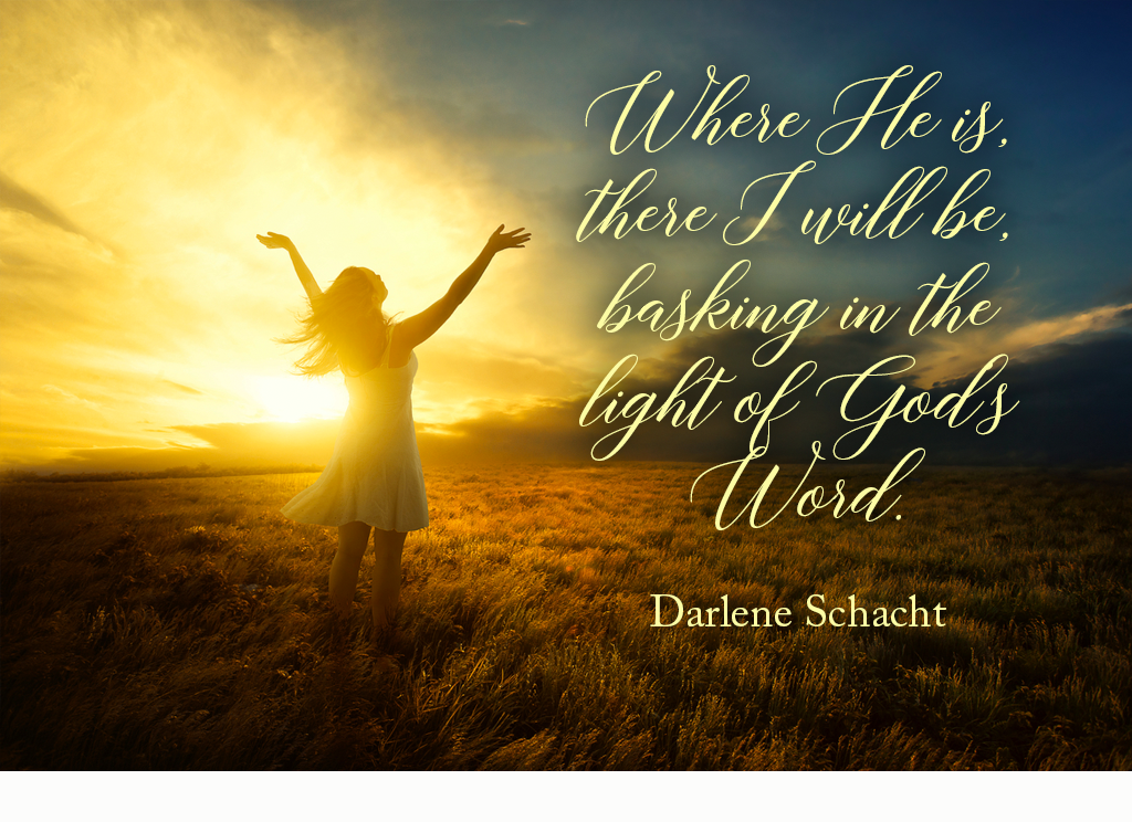 Daily Devotion - Basking in the Light of God's Word