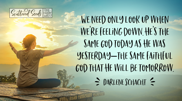 Daily Devotion - Look Up When You're Feeling Down