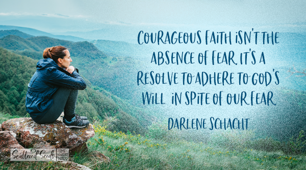 Daily Devotion - Courageous Faith is Contagious
