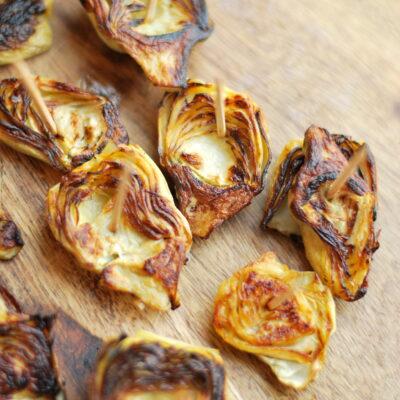 Crispy Artichokes & Horseradish Dip