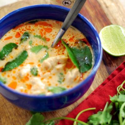 Chicken Coconut Soup -Tom Kha Gai