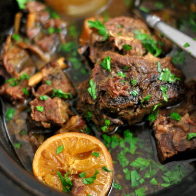 Orange & Star Anise Scented Short Ribs