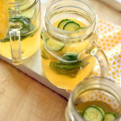Lychee Pineapple Cucumber-Ade