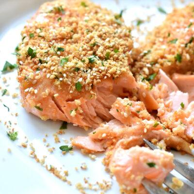 Miso Ginger Sesame Salmon