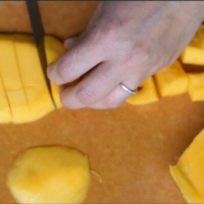 How to Peel & Cut Mango