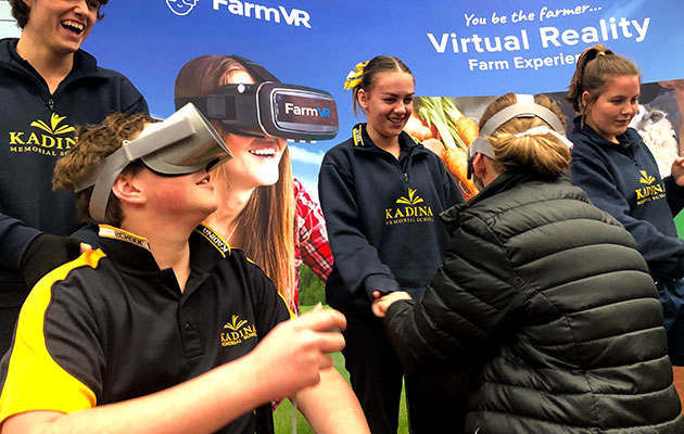 Engaging students with virtual reality and augmented reality experiences