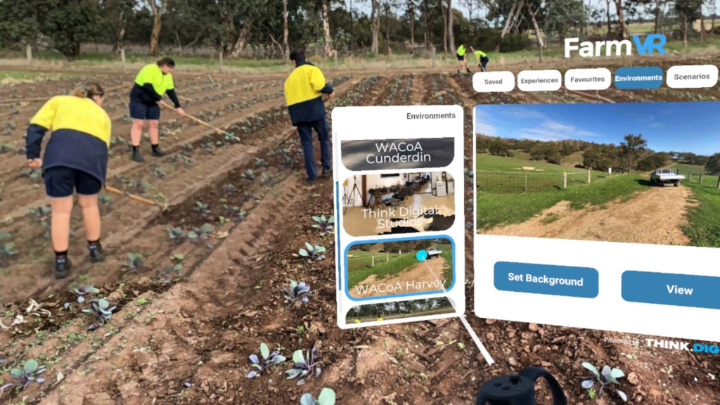 FarmVR custom VR app
