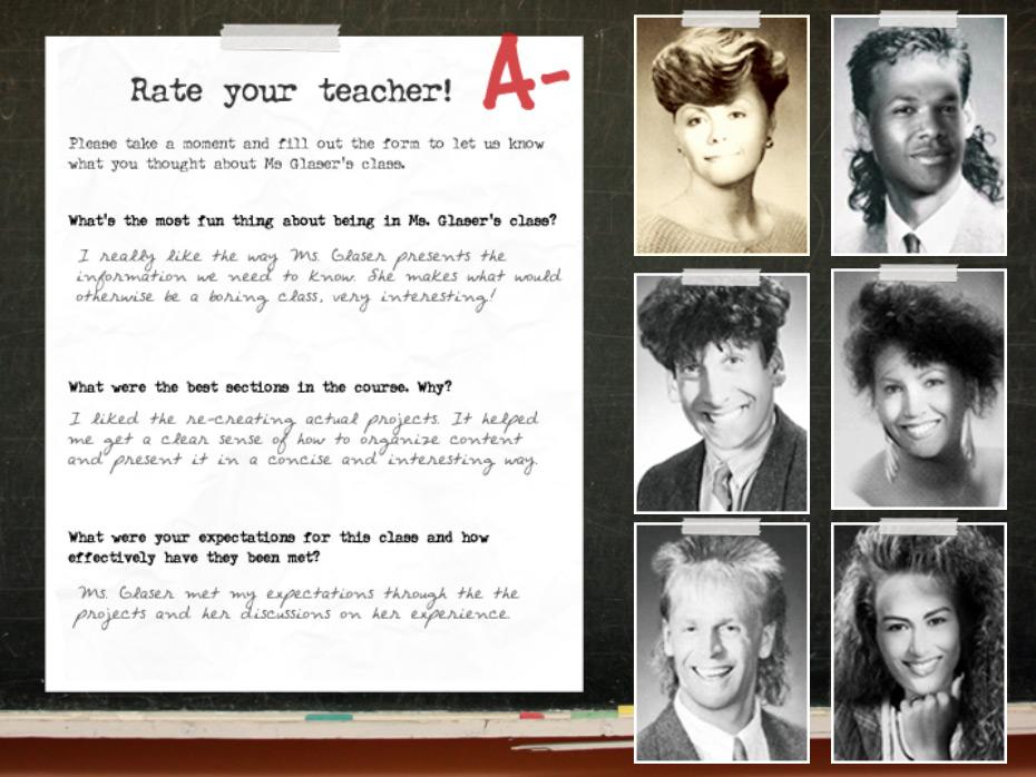 Teacher Evaluation Template