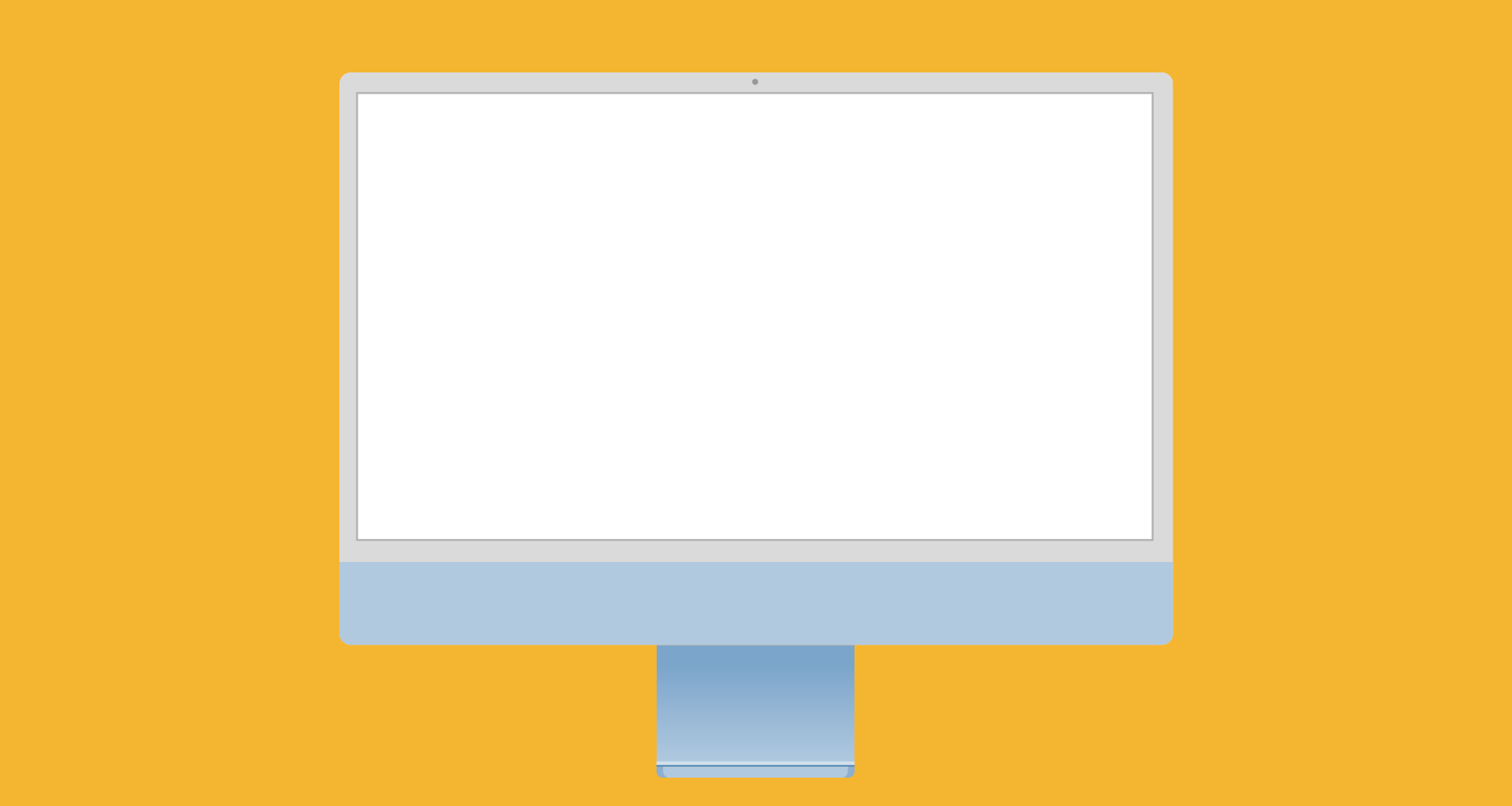 How to Design an iMac Computer in PowerPoint