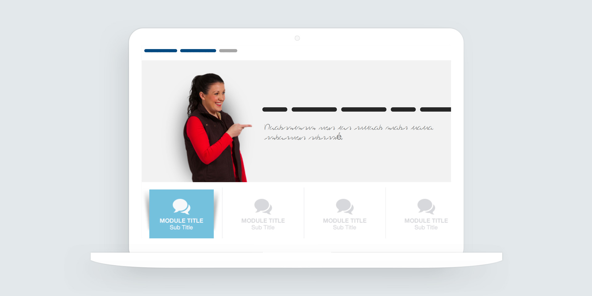 Storyline 360: Tab Style Button Download