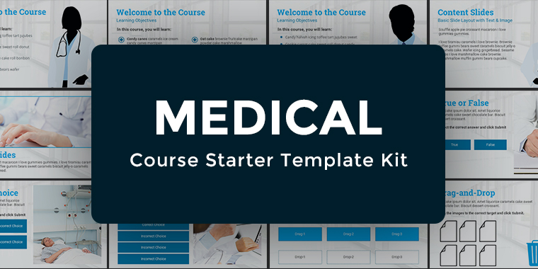Medical Theme E-Learning Template