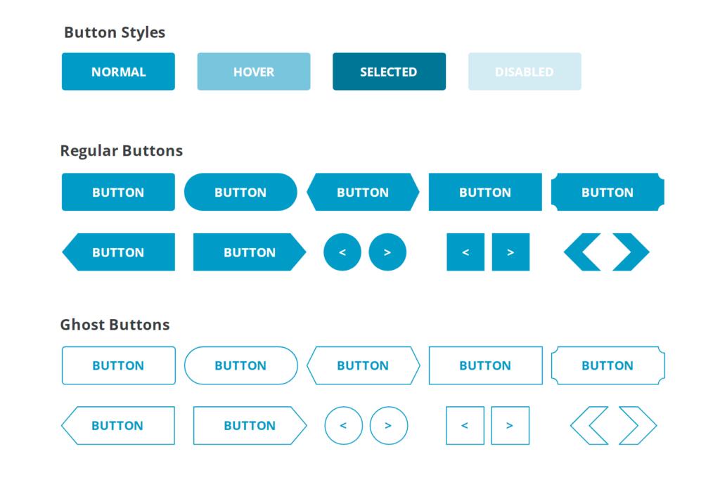 Button UI Starter Kit