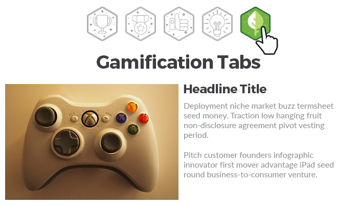 Storyline 360: Gamified Icon Tabs Interaction