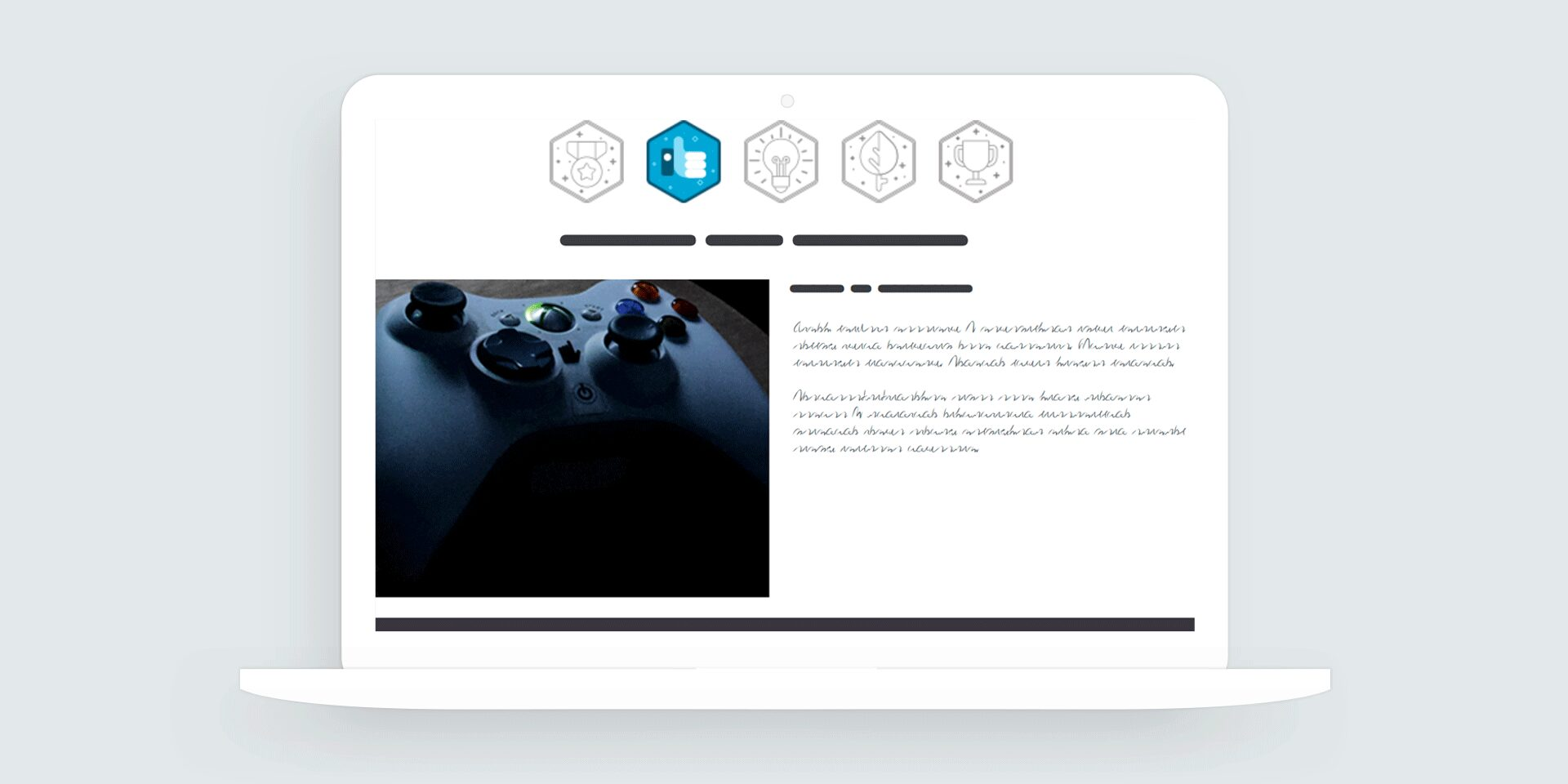 Storyline 360: Gamified Icon Tabs