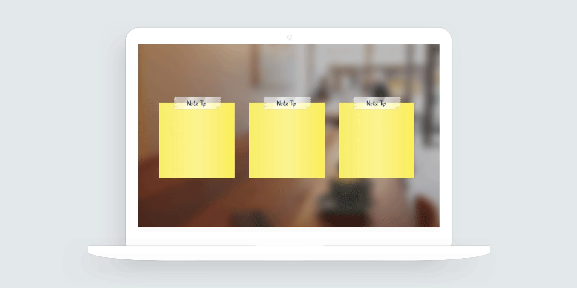 Storyline 360: Notecard Interaction Template