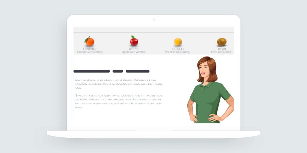 Storyline 360: Healthy Icon Tabs Interaction