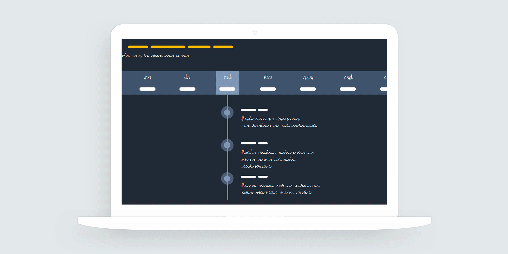 Storyline 360: Animated Timeline Tabs Interaction