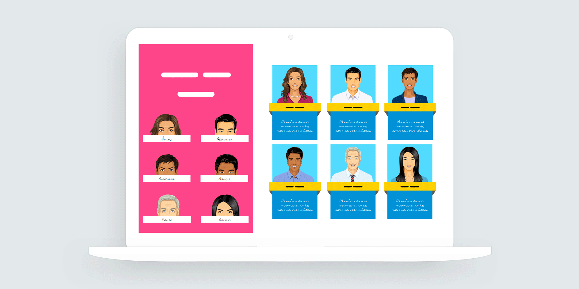 Storyline 360: Meet the Team Drag-and-Drop Interaction