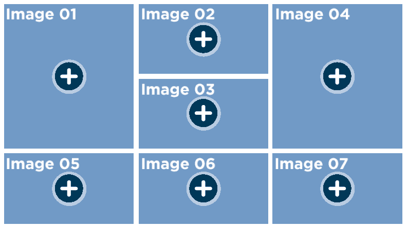 Simple click and reveal template for interactive stories