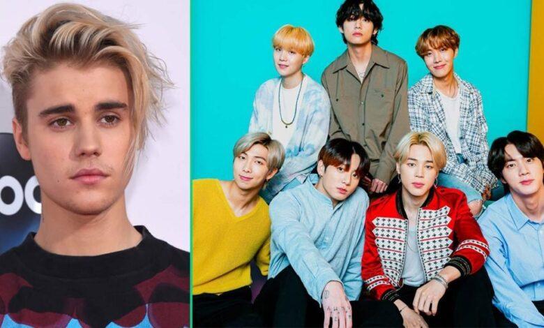 ¿Te imaginas una colaboración entre Justin Bieber y BTS? ¡Esto es lo que sabemos!