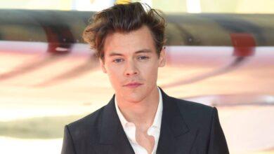 Se filtran imágenes de Harry Styles en «The Policeman»