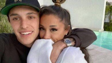 Ariana Grande se casa con Dalton Gómez lejos de las cámaras