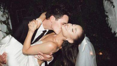 Ariana Grande comparte las primeras fotos de su boda