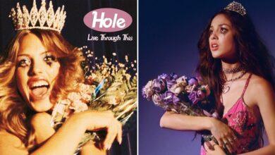 """Olivia Rodrigo anuncia el """"Sour Prom Concert"""" y Courtney Love la acusa de plagio"""